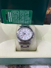 Rolex Explorer II 16570 White Dial Stainless Steel Watch Box Booklets luxury