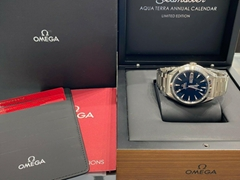 NEW OMEGA Seamaster Aqua Terra 231.50.43.22.01.001 18K White Gold luxury swiss