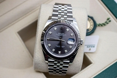 BRAND NEW Rolex Datejust 41 126334 Rhodium Dial Stainless Steel Box Papers cheap