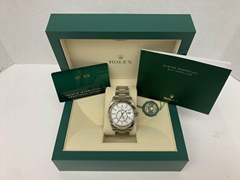 Rolex Sky Dweller 326934 Oyster Perpetual 42mm White Dial Stainless Steel Watch