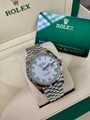 2020 Rolex Datejust 126334 White Roman 41mm Jubilee w/ Box & Papers luxury brand