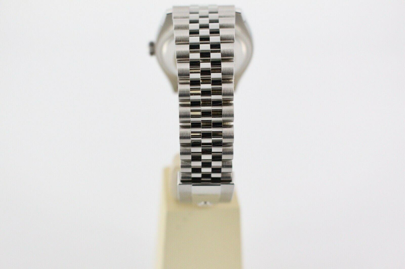 BRAND NEW Rolex Datejust 126200 Si  er Dial Stainless Steel Box Papers 18