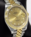 Rolex Datejust 41mm 126333 Bi Colour Wimbledon Dial With Papers 2020 luxury sale