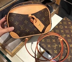 Louis Vuitton bag M45528 Monogram Deauville MINI LV mini shoulder bag 2020 LV