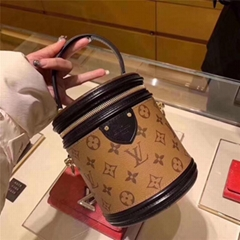 LOUIS VUITTON CANNES MONOGRAM REVERSE Crossbody Bag luxury designer ladies box