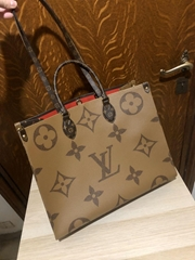 Louis Vuitton ONTHEGO Tote Shoulder Bag M44576 Giant Monogram LV handbag sale