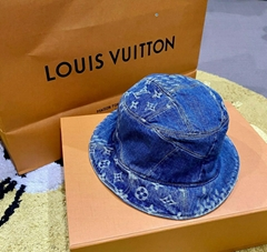 Louis Vuitton Nigo Damier Giant Wave Monogram Denim Sun Hat