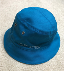 Louis Vuitton Monogram Denim Woven Bucket Hat Reversible baseball caps LV hats