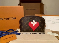Louis Vuitton Game On Monogram Cosmetic Pouch Toiletry LV purse wallet cheap bag