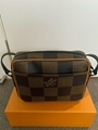 LOUIS VUITTON LV2 Nigo Damier Ebene Giant Geant Wave Monogram Drip Nil Nile Messenger Shoulder bag