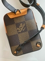 LOUIS VUITTON LV2 Nigo Damier Ebene Giant Geant Wave Drip Nil Nile Messenger bag