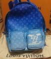 Louis Vuitton Virgil Backpack Bag Monogram Clouds Cloud Blue M45441 LV handbag