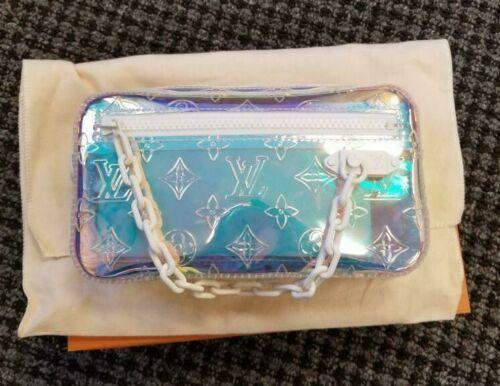 Louis Vuitton Volga Prism Monogram Shoulder Bag Pochette Clutch M55261 Virgil LV