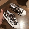 BURBERRY KIDS Vintage Check canvas sneakers child Children Girl Boy Toddler baby