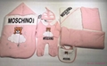 Check Cotton Baby Nest baby blanket bodysuit kids gift set Swaddle suit 7