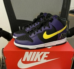 Nike Dunk High EMB Lakers DH0642-001 wholesale sneaker online sale cheap shoes