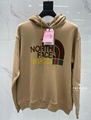 The North Face GG Canvas Bomber Jacket Monogram Puffer Padded Down Parka coat
