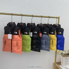GG The North Face Unisex Puffer Jacket Goose Down Vest Padded Parka coat
