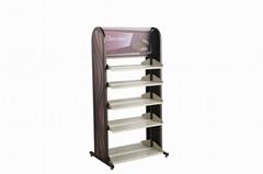 Functional  metal & wooden display shelf