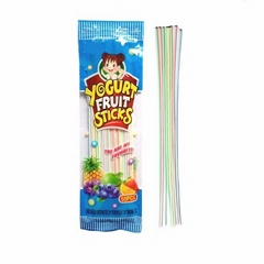 Yogurt Fruit Long candy powder cc stick