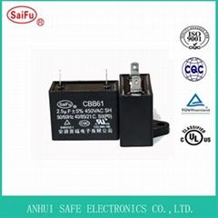 AC Motor Run Fan Capacitor CBB61 Capacitor