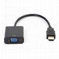 HDMI Male to VGA Female Video Cable