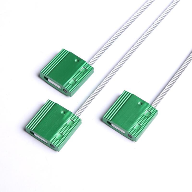 抽緊式鋼絲封條 防偽鉛封 一次性貨運封條鎖 YT-CS601 5