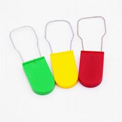 高安全塑料挂鎖 一次性挂鎖封條 電水表鉛封