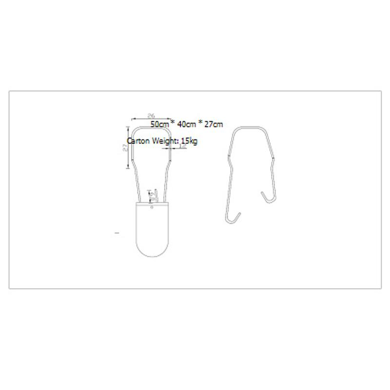 高安全塑料挂鎖 一次性挂鎖封條 電水表鉛封 5