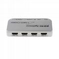HDMI Splitter 1x4 1 input 4 output Full HD 1080P 3D Support IR Control
