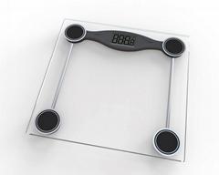 Tempered Glass LCD Display Digital Bathroom Scale