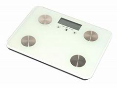 Personal Smart  150kg 330Lb Digital Bathroom Weighing Body Fat Scale