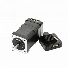 NEMA17 Integrated Closed Loop Stepper motor with multi turn absolute encoder
