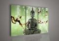 Contemporary zen art Buddha oil painting