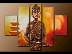 Contemporary zen art Bud