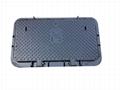 JRC4 ductile iron manhole cover for Etisalat