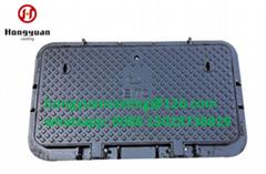 Jrc4 manhole cover CW2 ductile iron