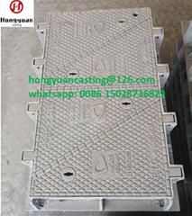 Jrc12 manhole cover cw3 EN124 D400 ductile iron Du