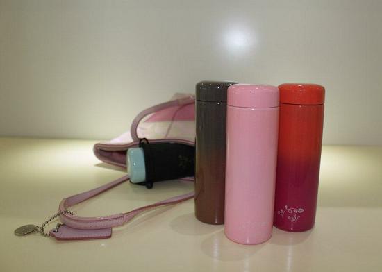 Fashion Mini Colorful Vacuum Flask Cup 1