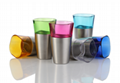 BPA Free Stainless Steel Colorful Beer