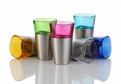 BPA Free Stainless Steel Colorful Beer Cup