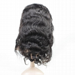 Stella Hair Wholesale 100% Remy Human Brazilian Hair Full Lace Wig Body Wave