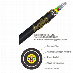 armored tactical fiber optic cable