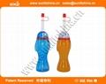 Beach  Football Style Yard Cups Football Style Slush Yard Cups With Lid & Straw 5