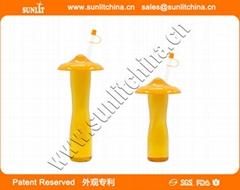 Logo Print Novelty Slush Yard Cups With Lid & Straw