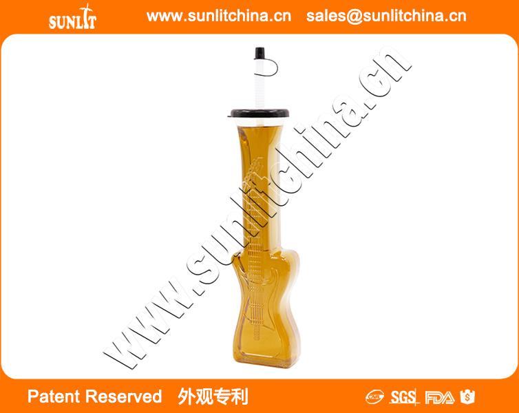 Guitar Slush Yard Cup Wholesale Plastic Yard Cups 1