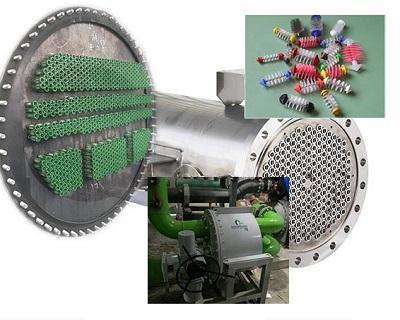 冷水機冷凝器管刷在線清洗系統 1