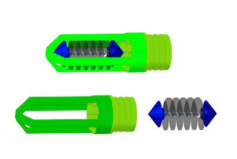 冷水機冷凝器管刷在線清洗系統 2