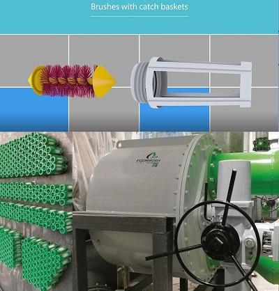 EQOBRUSH 冷凝器自動管刷清洗系統 1