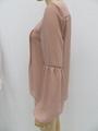 女士或肥婆纯色休闲长袖衬衫 2
